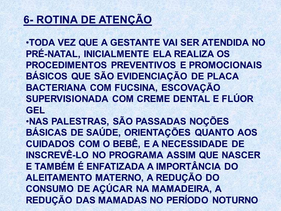 6- ROTINA DE ATENÇÃO