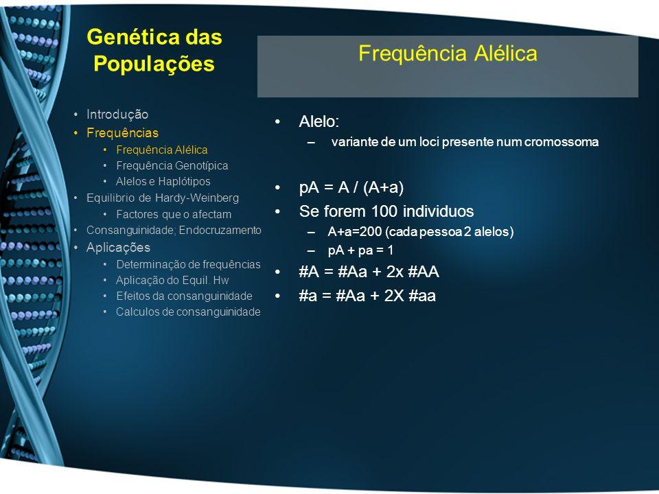 Genética das Populações