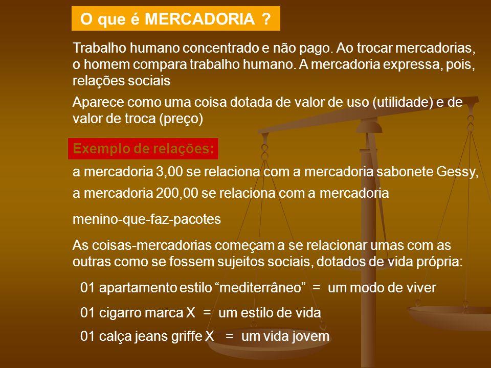 O que é MERCADORIA