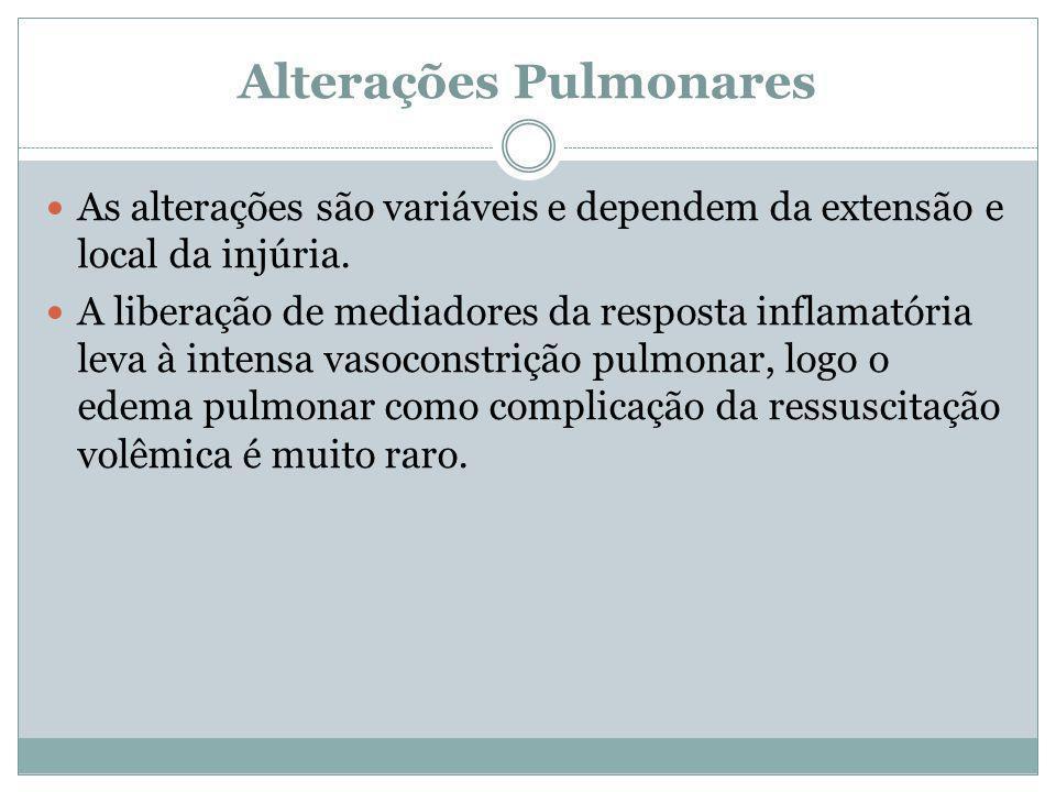 Alterações Pulmonares