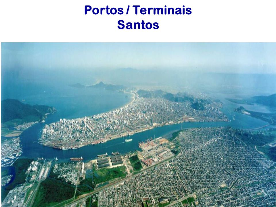 Portos / Terminais Santos