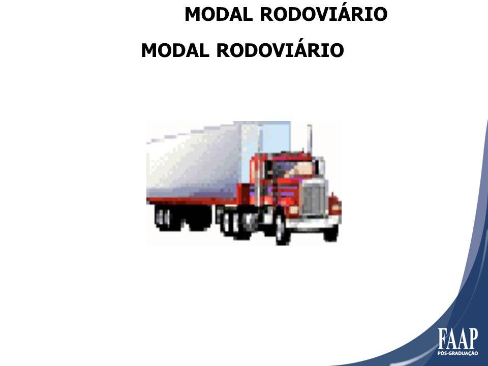 MODAL RODOVIÁRIO MODAL RODOVIÁRIO