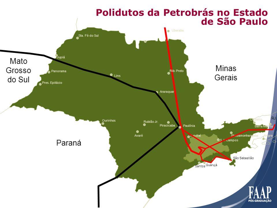 Polidutos da Petrobrás no Estado de São Paulo