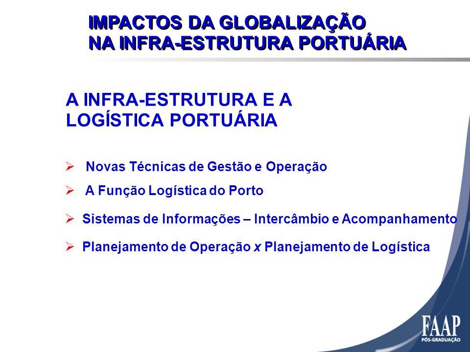 IMPACTOS DA GLOBALIZAÇÃO NA INFRA-ESTRUTURA PORTUÁRIA