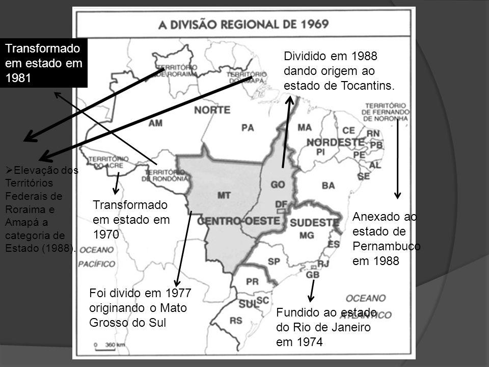 Transformado em estado em 1981