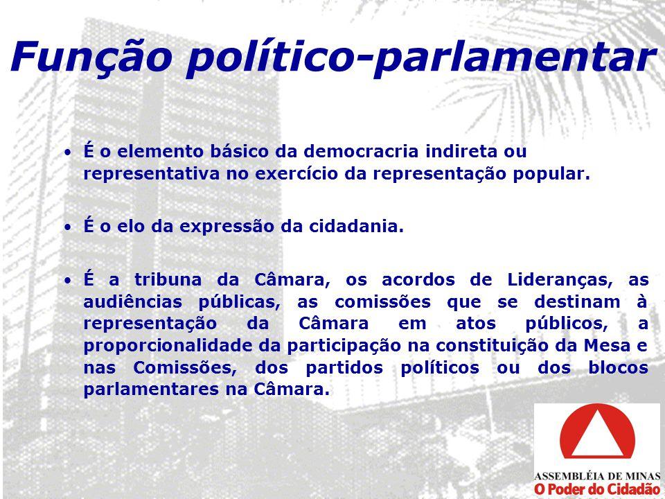 Função político-parlamentar