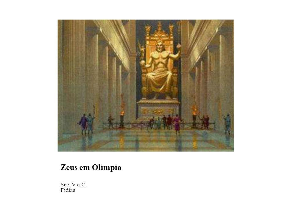 Zeus em Olimpia Sec. V a.C. Fídias