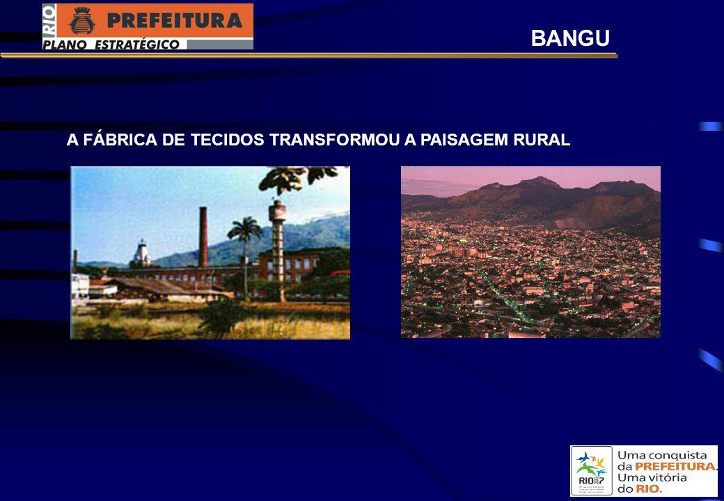 BANGU A FÁBRICA DE TECIDOS TRANSFORMOU A PAISAGEM RURAL