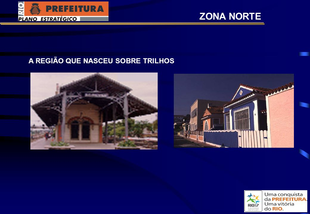 ZONA NORTE A REGIÃO QUE NASCEU SOBRE TRILHOS