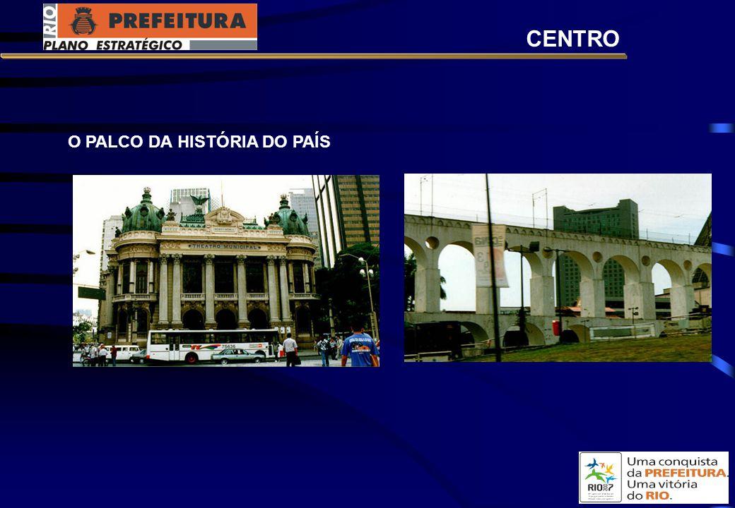 CENTRO O PALCO DA HISTÓRIA DO PAÍS
