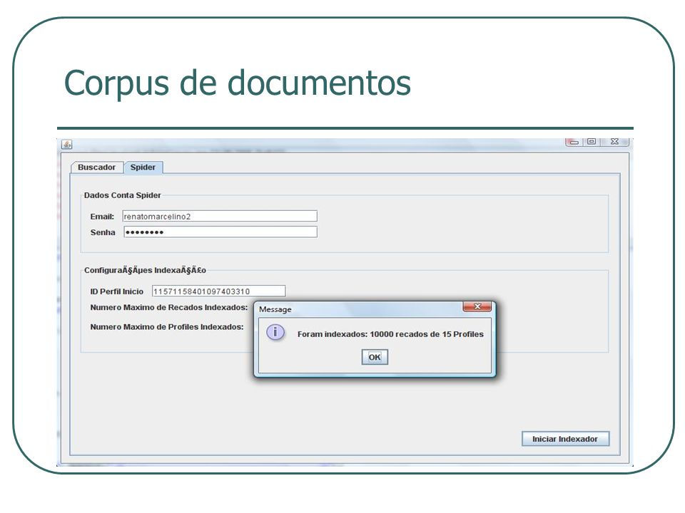 Corpus de documentos