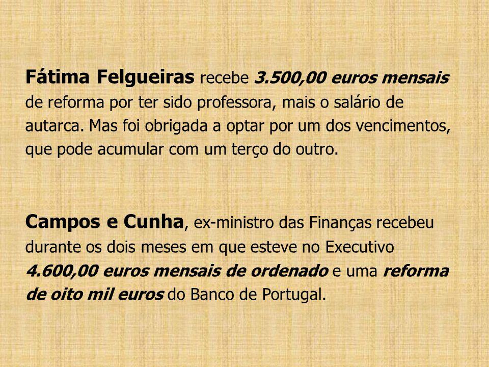Fátima Felgueiras recebe 3