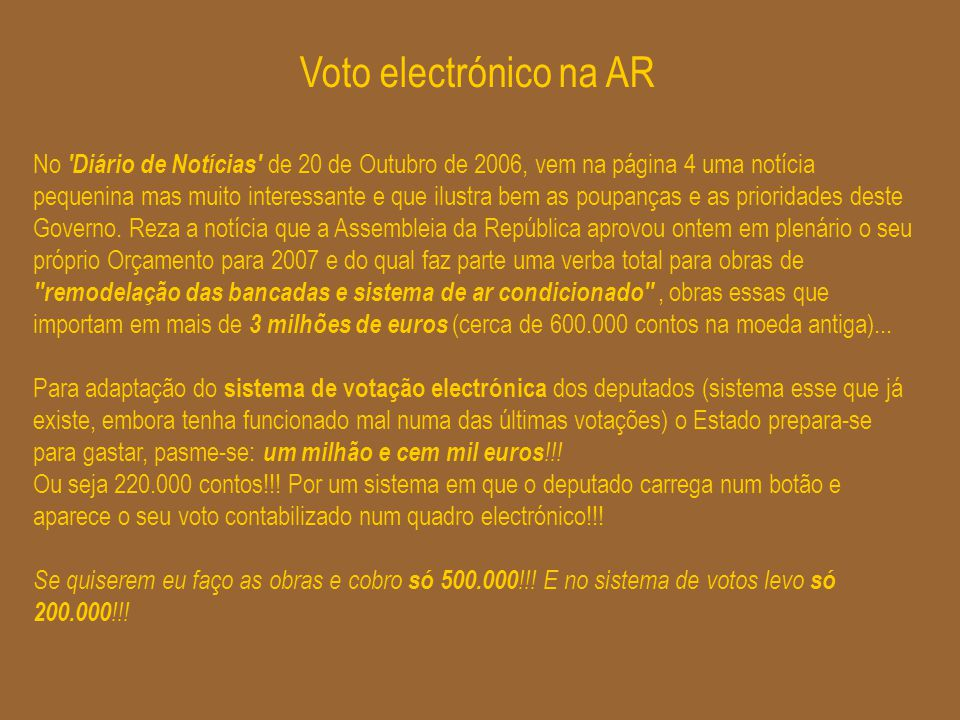 Voto electrónico na AR
