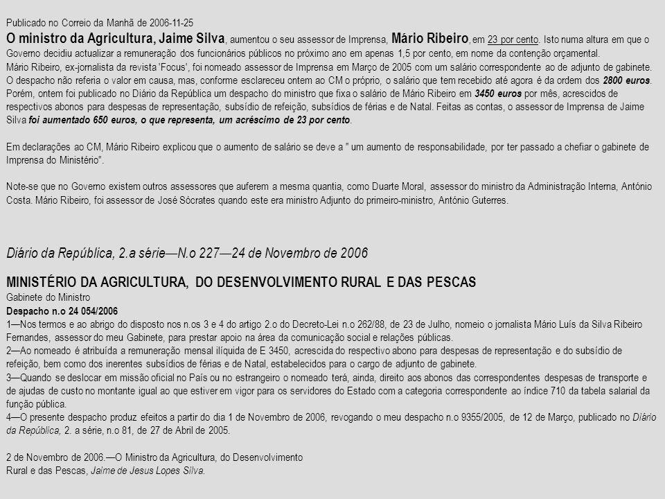 Diário da República, 2.a série—N.o 227—24 de Novembro de 2006