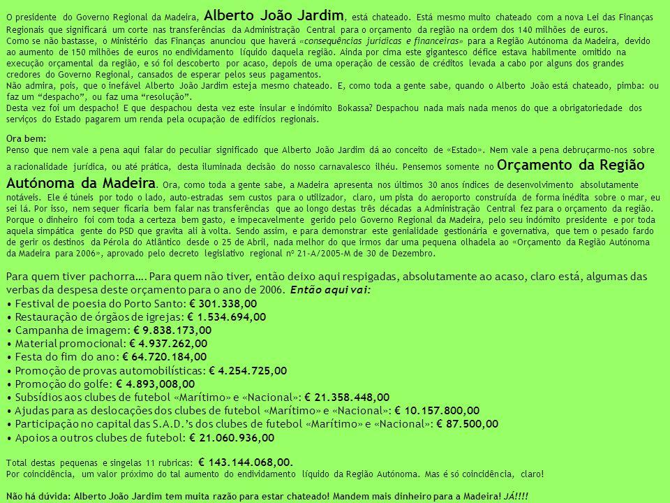 Festival de poesia do Porto Santo: € 301.338,00