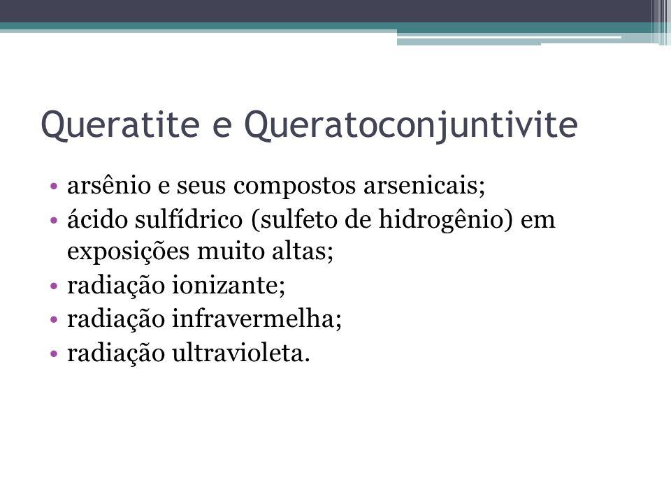 Queratite e Queratoconjuntivite