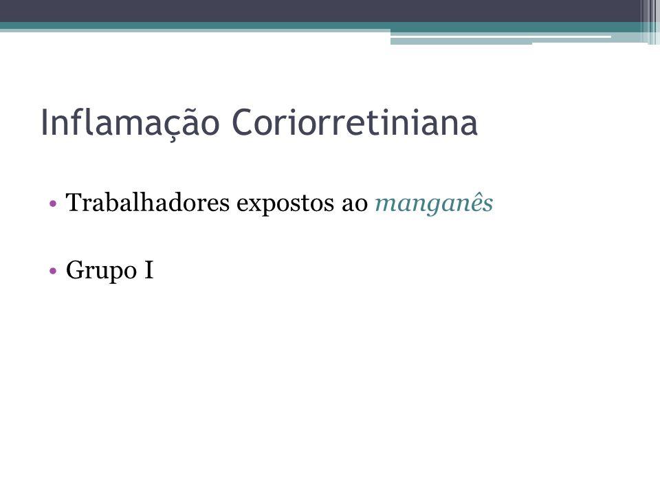 Inflamação Coriorretiniana