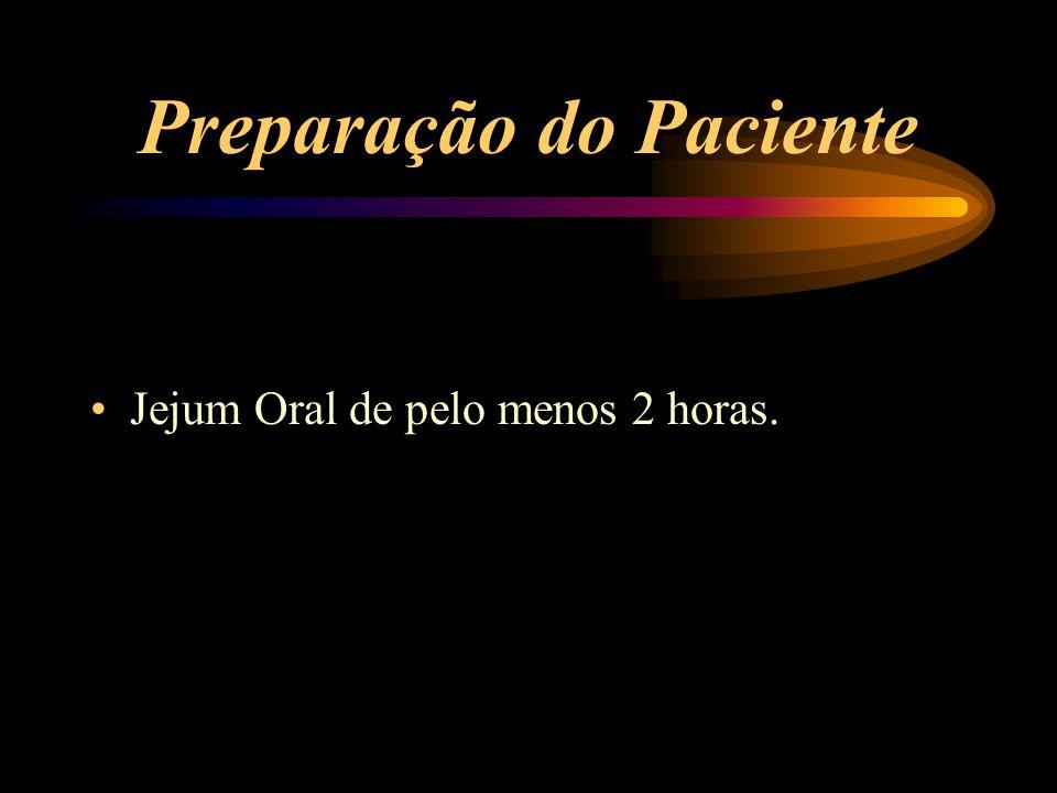 Preparação do Paciente