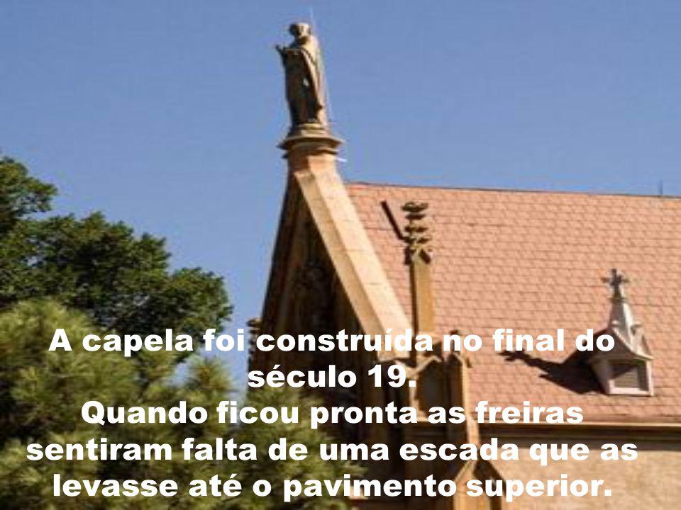 A capela foi construída no final do século 19