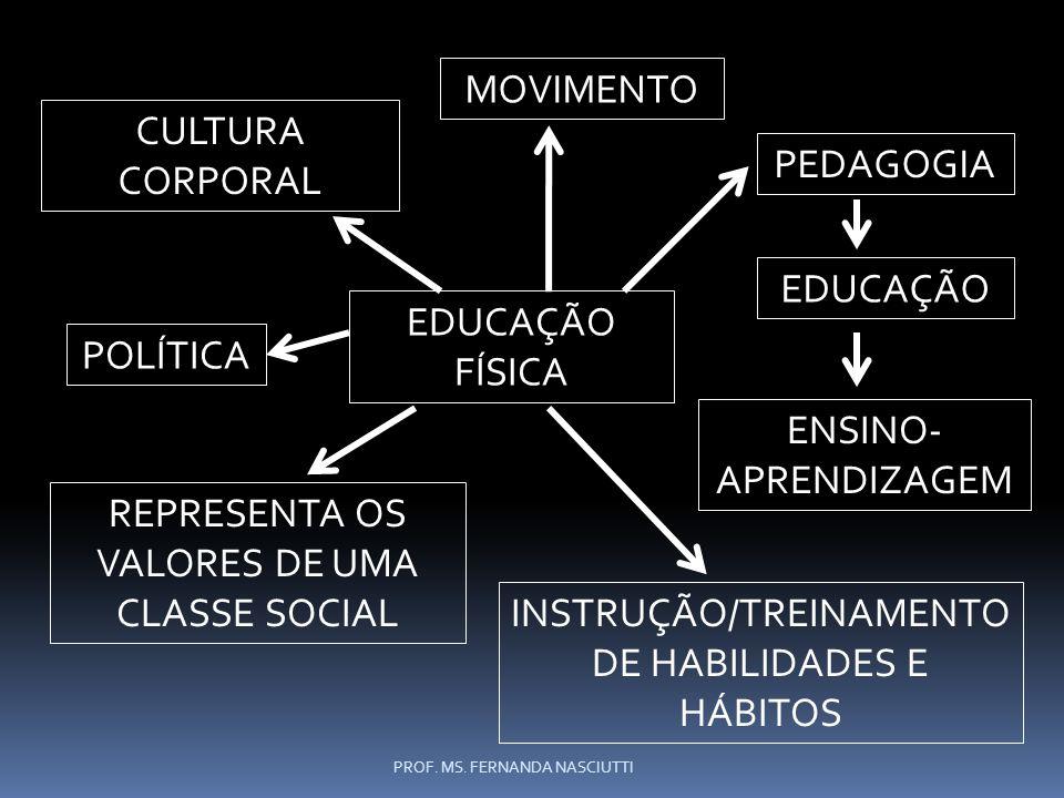 REPRESENTA OS VALORES DE UMA CLASSE SOCIAL
