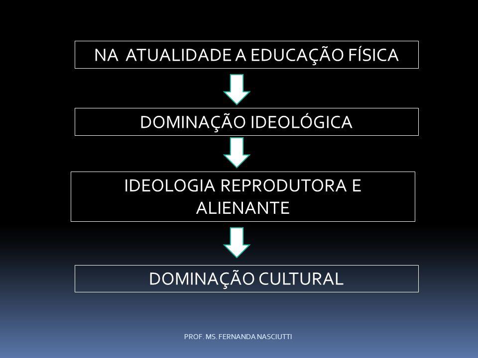 NA ATUALIDADE A EDUCAÇÃO FÍSICA
