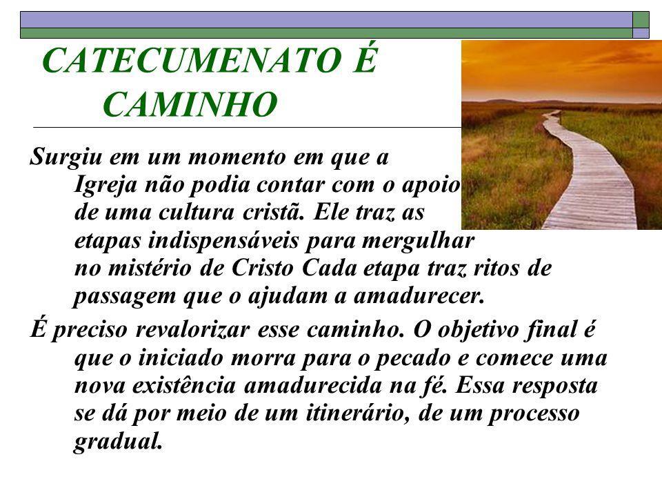 CATECUMENATO É CAMINHO