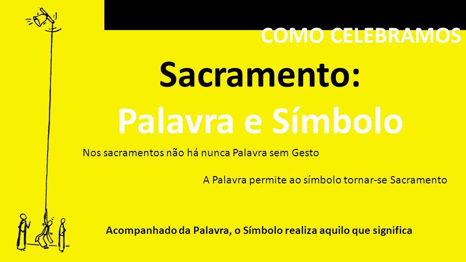 Sacramento: Palavra e Símbolo