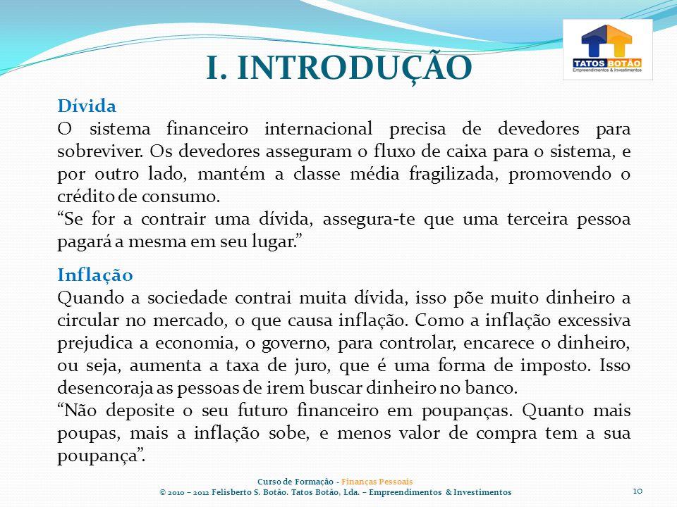 Curso de Formação - Finanças Pessoais