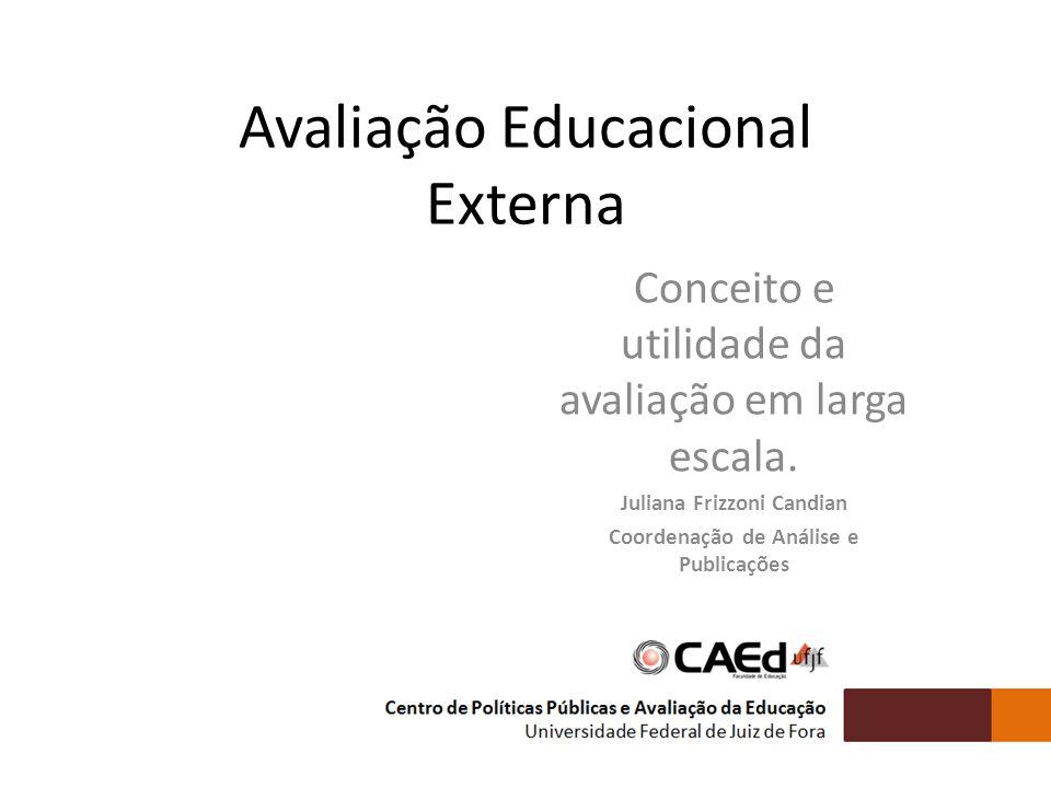 Juliana Frizzoni Candian Coordenação de Análise e Publicações