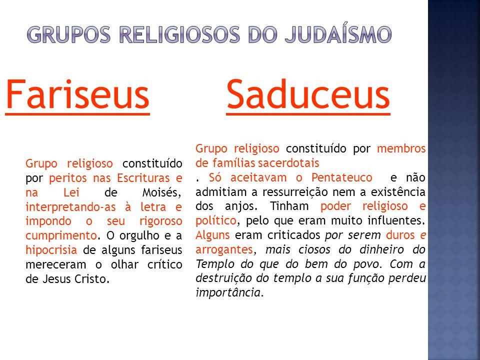 Grupos religiosos do judaísmo