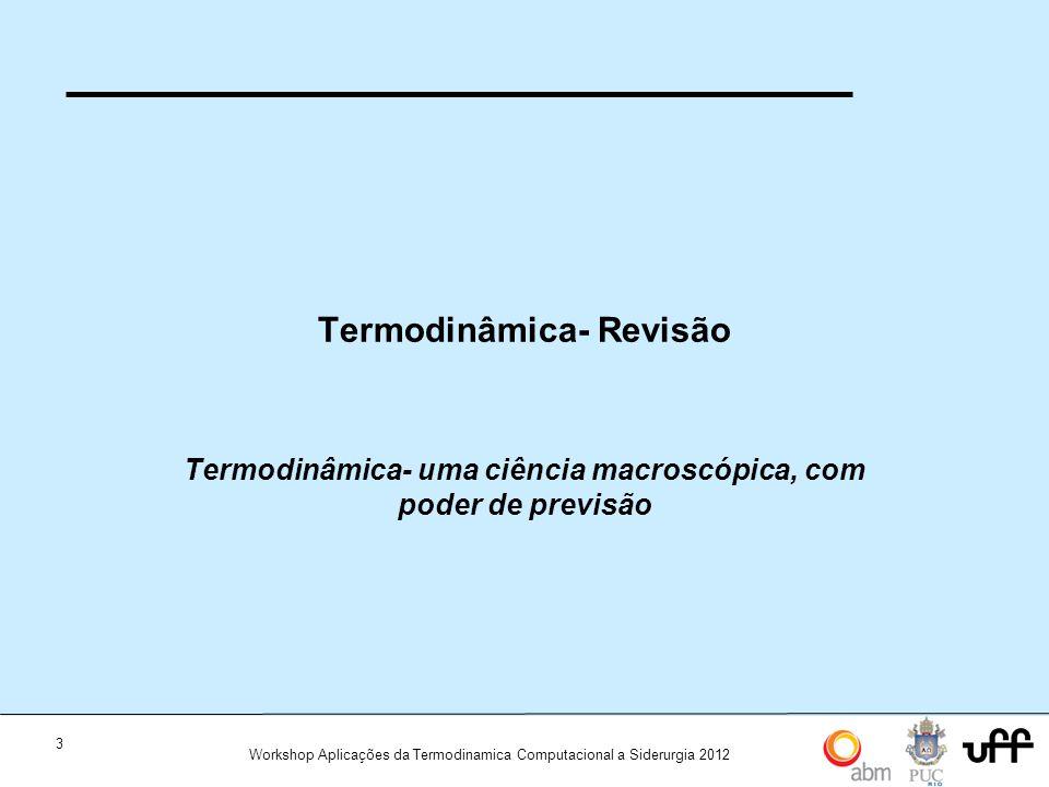 Termodinâmica- Revisão