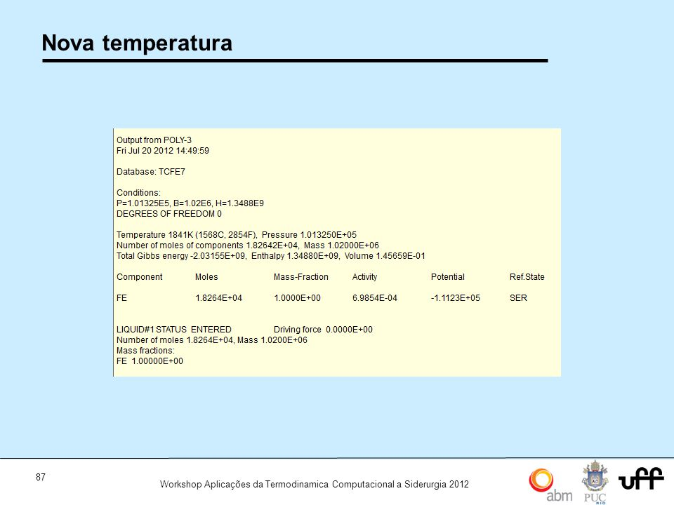Nova temperatura