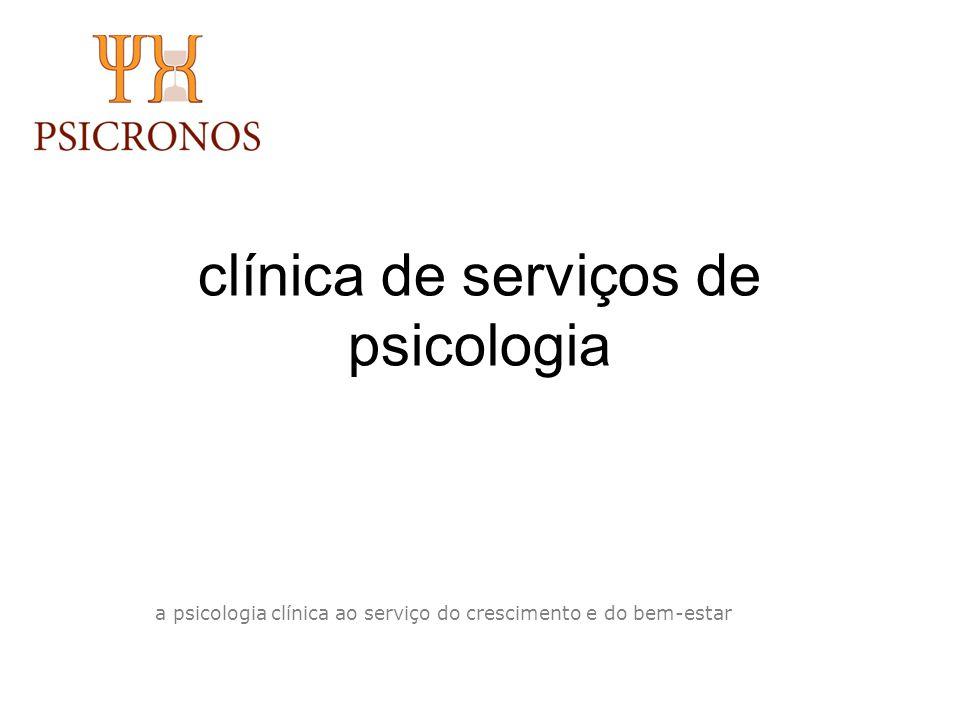 clínica de serviços de psicologia