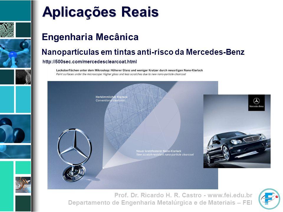 Aplicações Reais Engenharia Mecânica