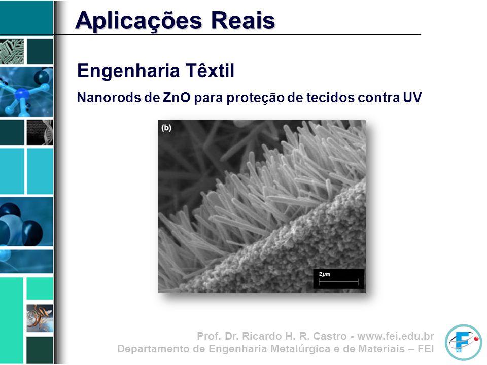 Aplicações Reais Engenharia Têxtil