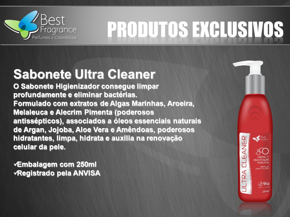 PRODUTOS EXCLUSIVOS Sabonete Ultra Cleaner