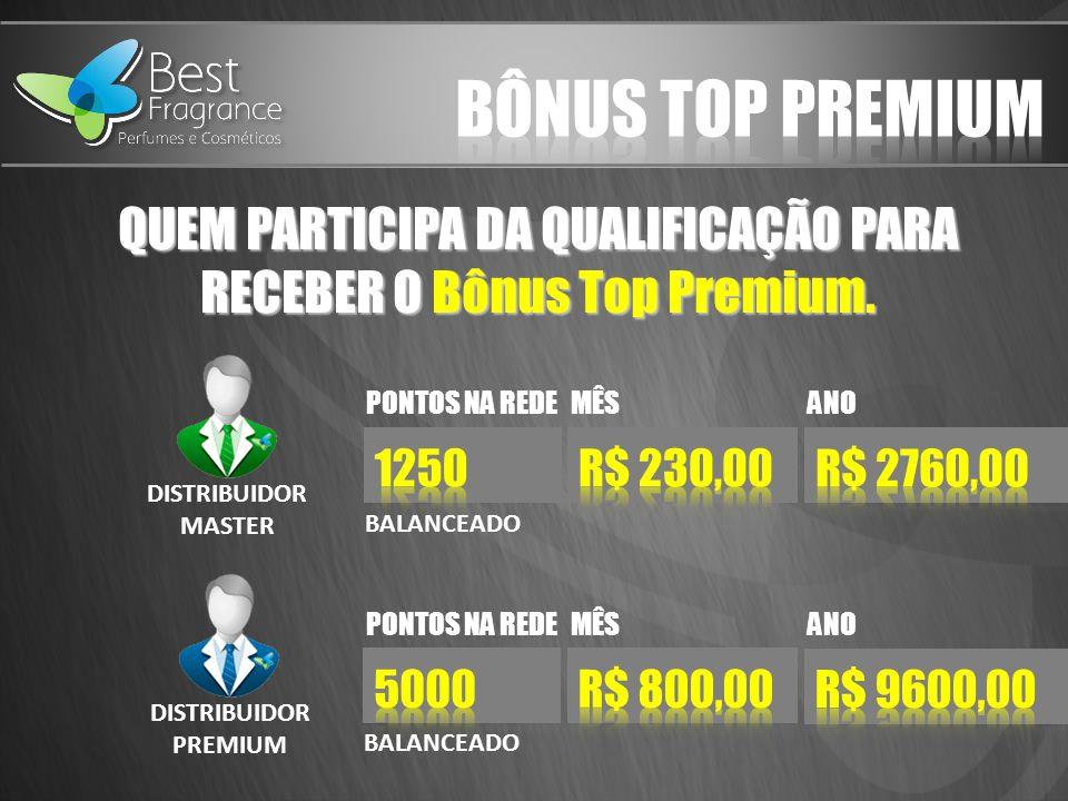 QUEM PARTICIPA DA QUALIFICAÇÃO PARA RECEBER O Bônus Top Premium.