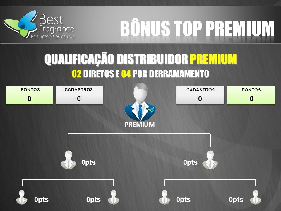 Bônus top premium QUALIFICAÇÃO DISTRIBUIDOR PREMIUM