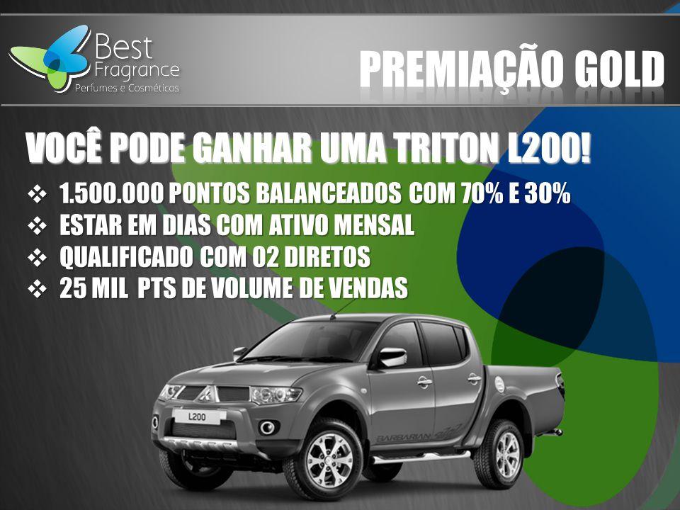 PREMIAÇÃO GOLD VOCÊ PODE GANHAR UMA TRITON L200!