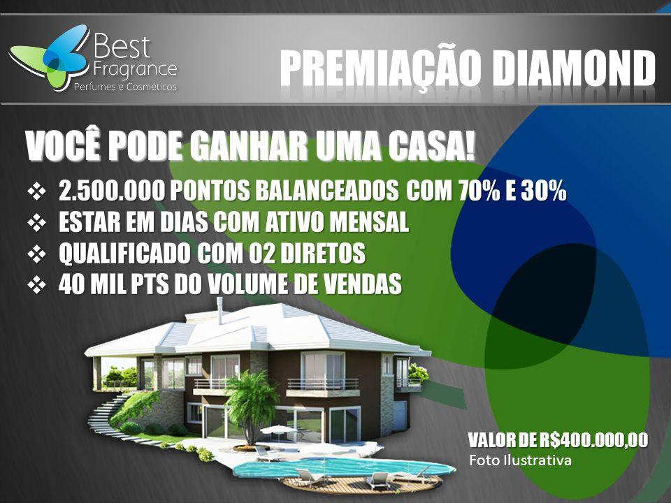 PREMIAÇÃO DIAMOND VOCÊ PODE GANHAR UMA CASA!