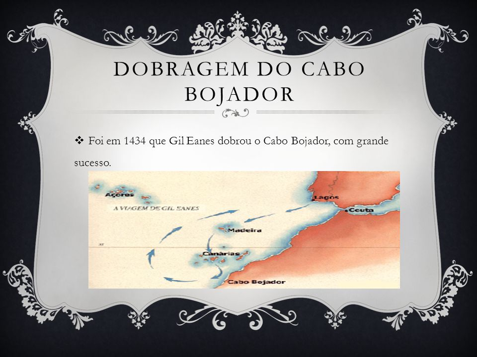 DOBRAGEM DO CABO BOJADOR