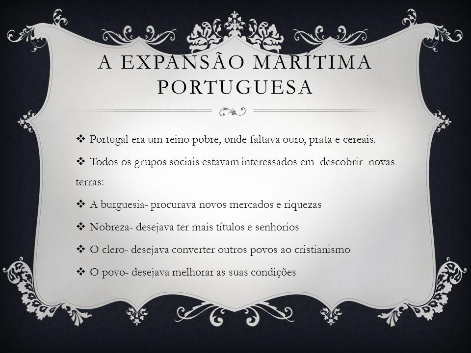 A expansão marítima portuguesa