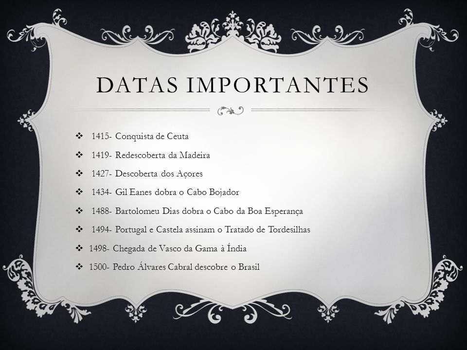 Datas importantes 1415- Conquista de Ceuta