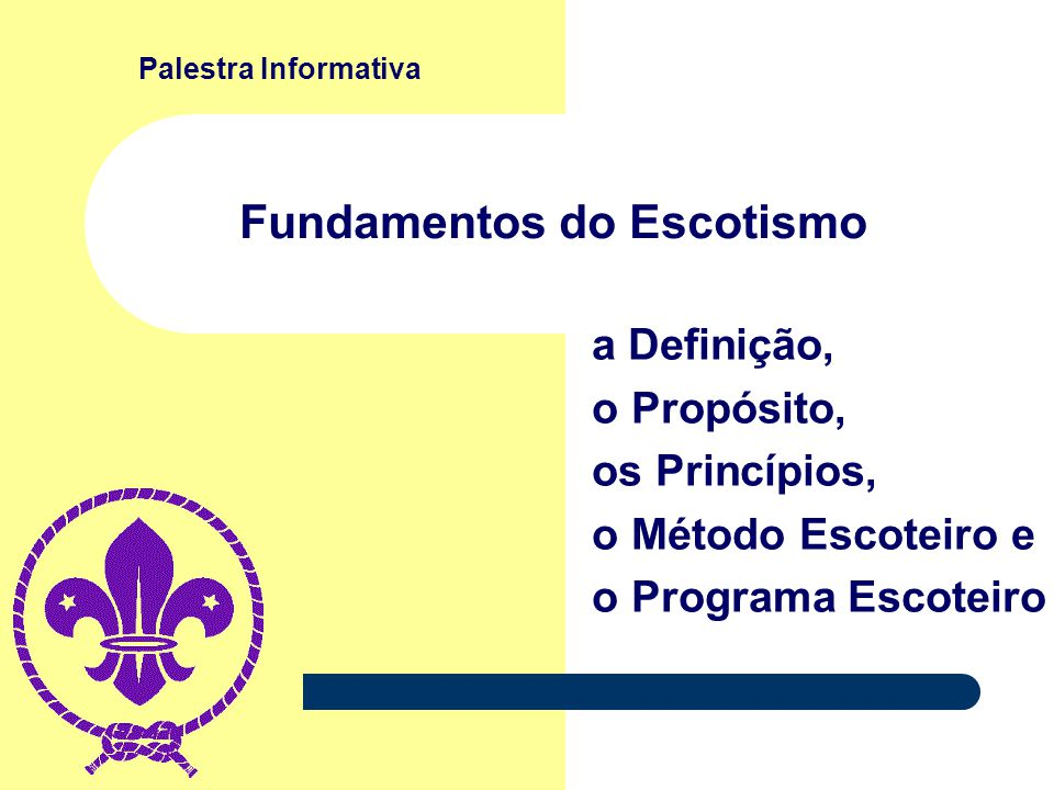 Fundamentos do Escotismo