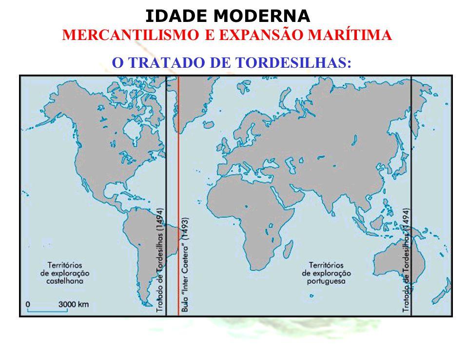 O TRATADO DE TORDESILHAS:
