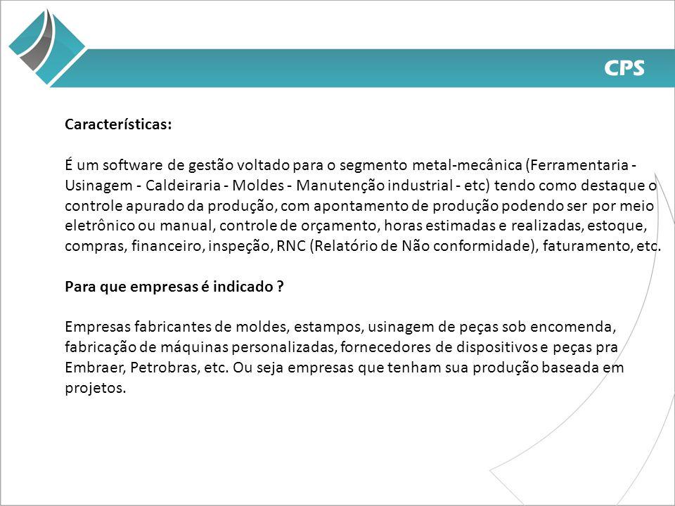 CPS Características: