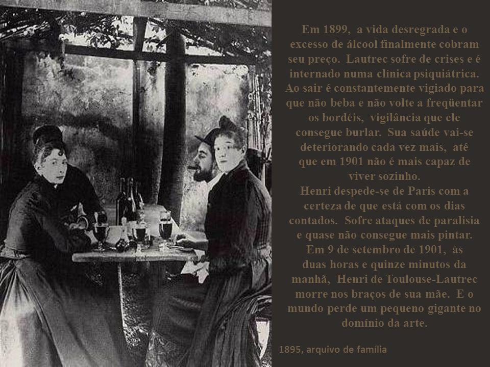 que em 1901 não é mais capaz de viver sozinho.