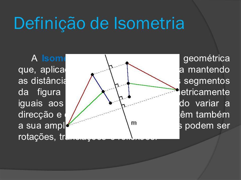 Definição de Isometria