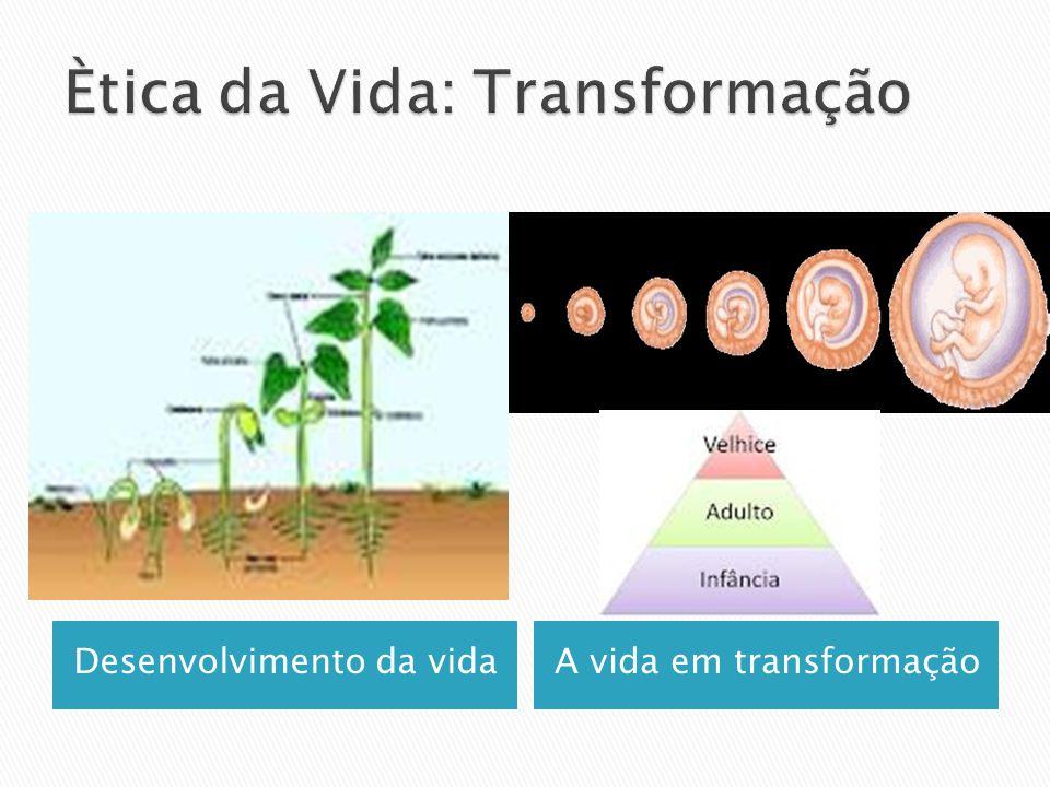 Ètica da Vida: Transformação