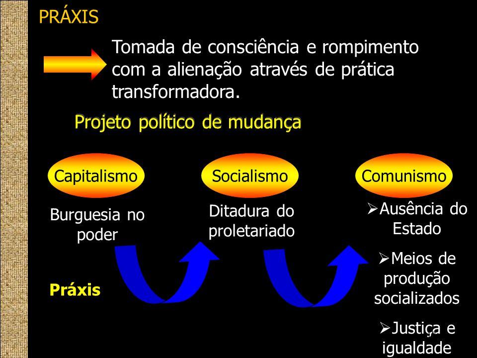 Projeto político de mudança